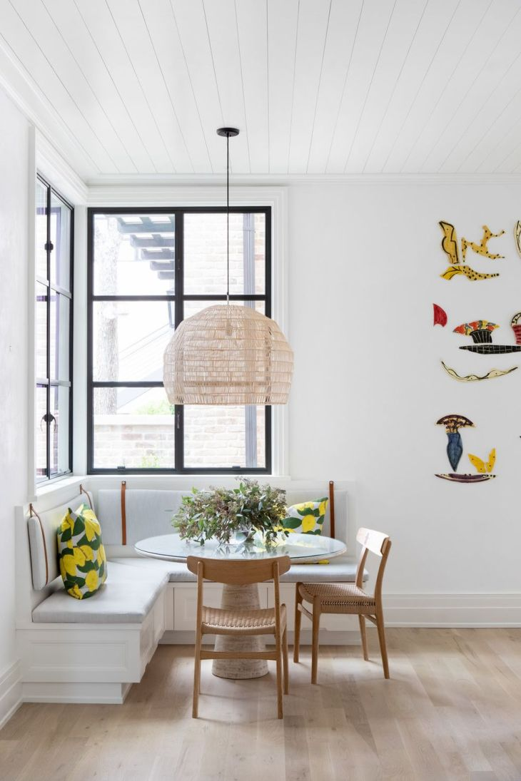 Make it kid friendly Shining Breakfast Nook Ideas That Will Make Your Morning Happier