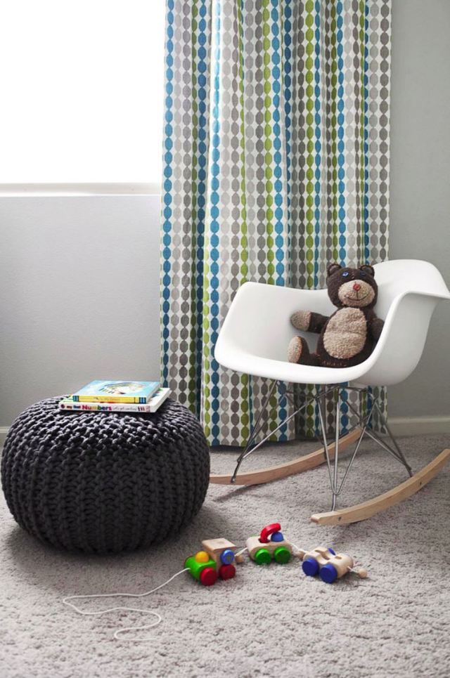 Pouf for a modern nursery Best Parts Of Home To Have Handy Uses For The Pouf As An Inviting Space
