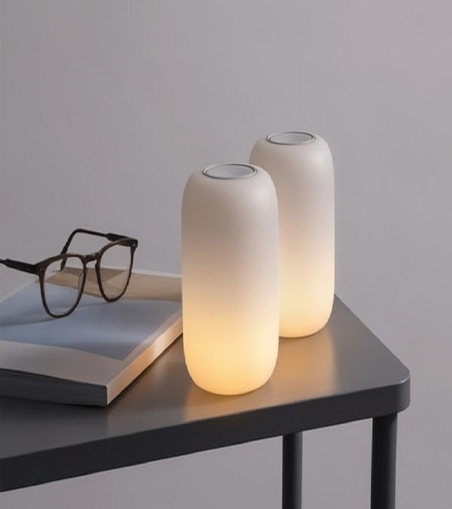 The glow light Night Study Sessions Lamp Ideas For Your Most Stylish Dorm Room