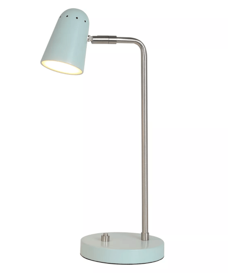 Thin tapered led task lamp Night Study Sessions Lamp Ideas For Your Most Stylish Dorm Room