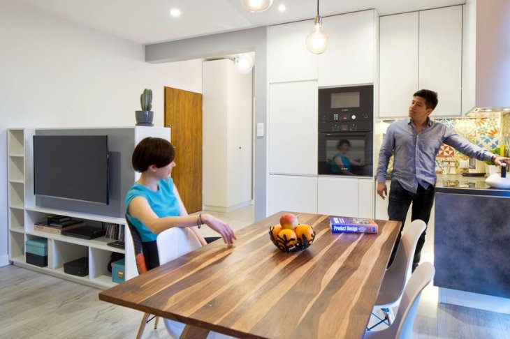 This 39 Square Meters Flat Gives Everything For A Young Couple 2