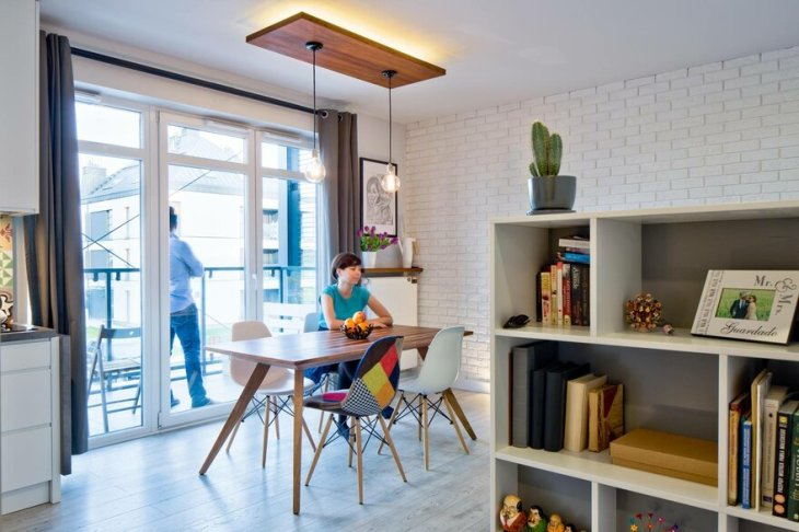 This 39 Square Meters Flat Gives Everything For A Young Couple 5