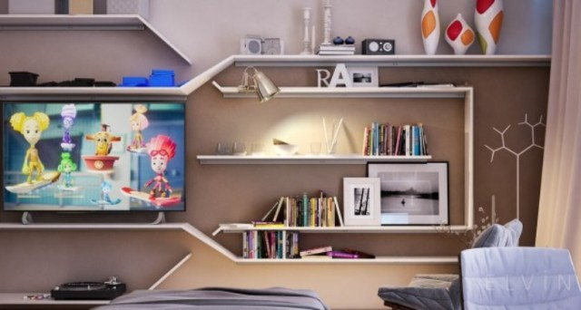 An ideal space for teens who are forced to share a room 4