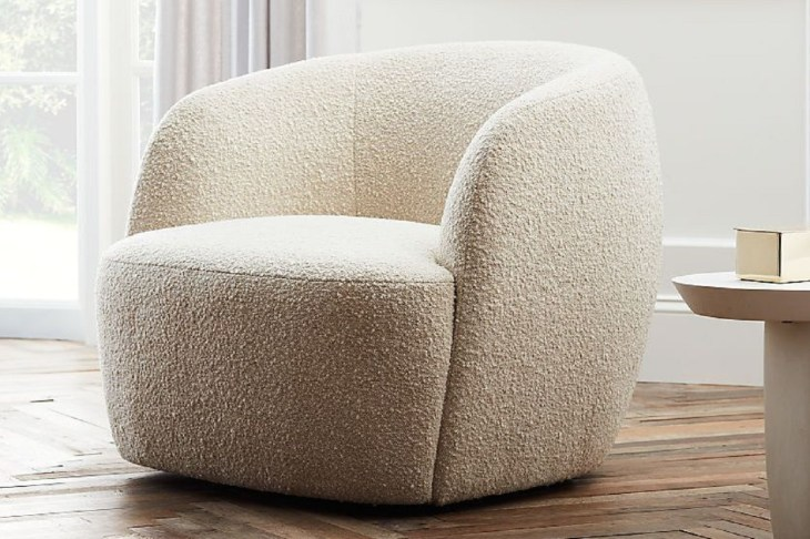 Gwyneth boucle chair Ultimate Couches And Chairs For Your Home here You Never Want To Get Up