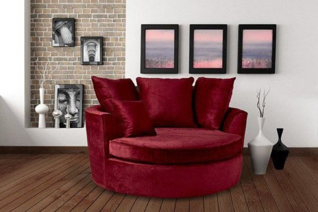 Marta cuddler barrel chair Ultimate Couches And Chairs For Your Home here You Never Want To Get Up