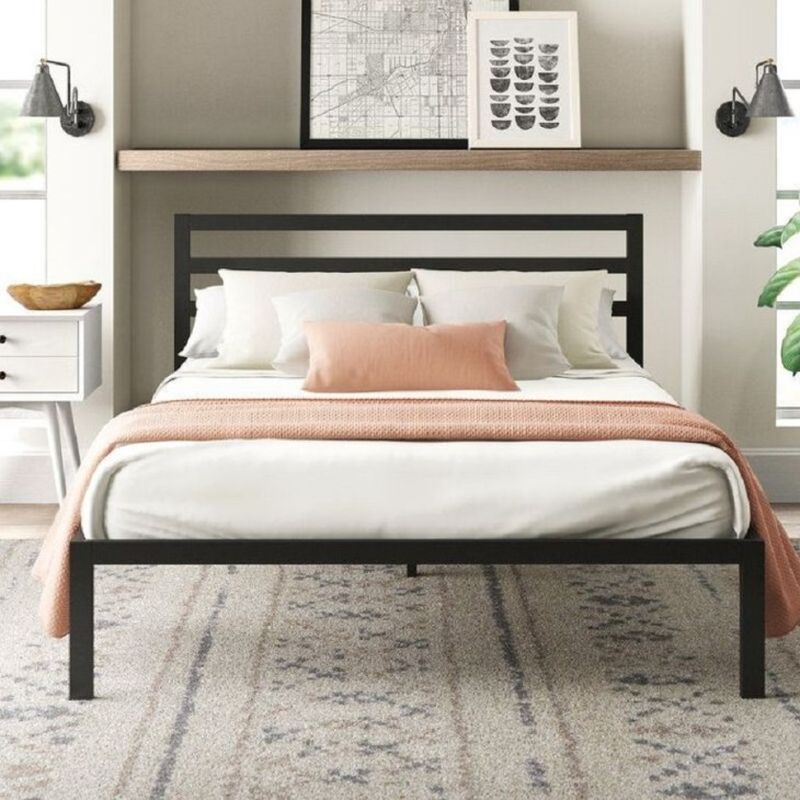 Ultra simple avey platform bed Hypnotize Bed Frames Where You Can Rest Easily With Style