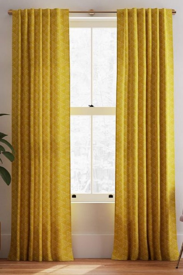 Dark horseradish curtains Undoubtedly Inspiring Bedroom Curtain Ideas To Instantly Elevate Your Space