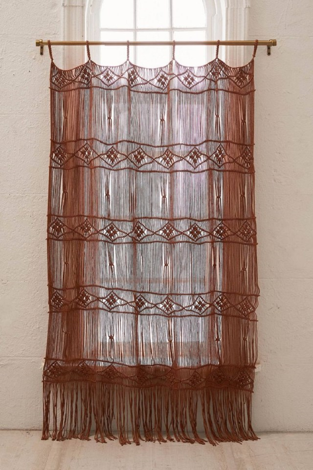 Macrame curtains Undoubtedly Inspiring Bedroom Curtain Ideas To Instantly Elevate Your Space
