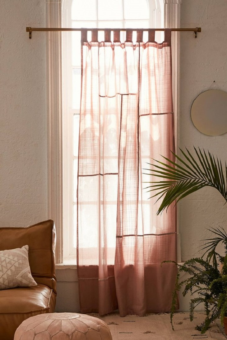 Patchwork gauze curtains Undoubtedly Inspiring Bedroom Curtain Ideas To Instantly Elevate Your Space