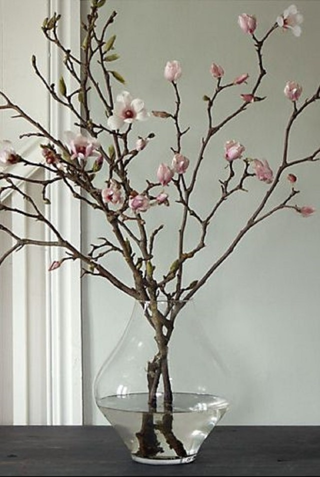 Tulip magnolia branches Incomparable Easter Home Decoration Ideas That Everyone Will Love This Spring