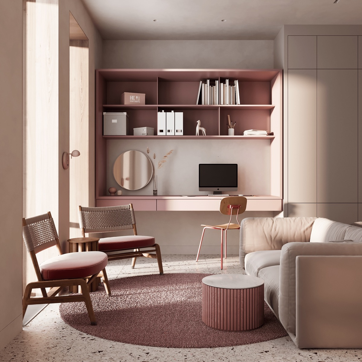 Pink Home Ideas To Give A Penchant Stylish Touch