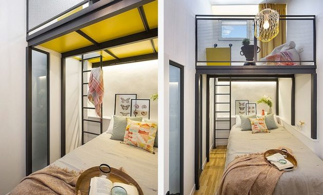 Unbelievable attic design that can function as an independent apartment 4