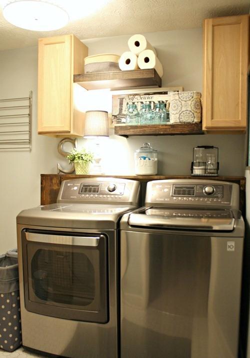 Laundry Room Storage Ideas to Keep It Neat