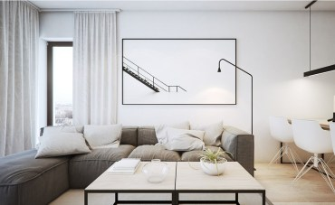 Minimalist-black-and-white-interior