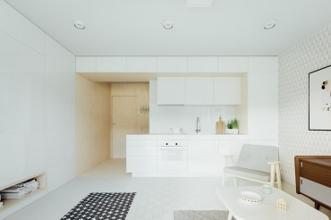 White-open-kitchen