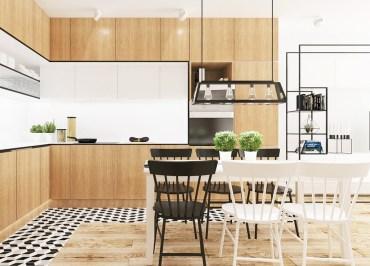 All-wood-cabinetry-scandinavian-kitchen