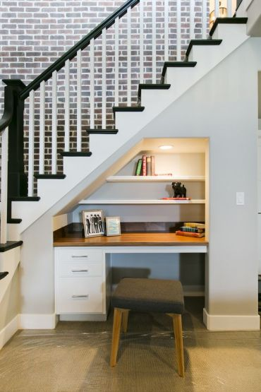 19-a-little-built-in-home-office-nook-with-a-built-in-desk-and-shelves-and-lights-and-a-small-stool