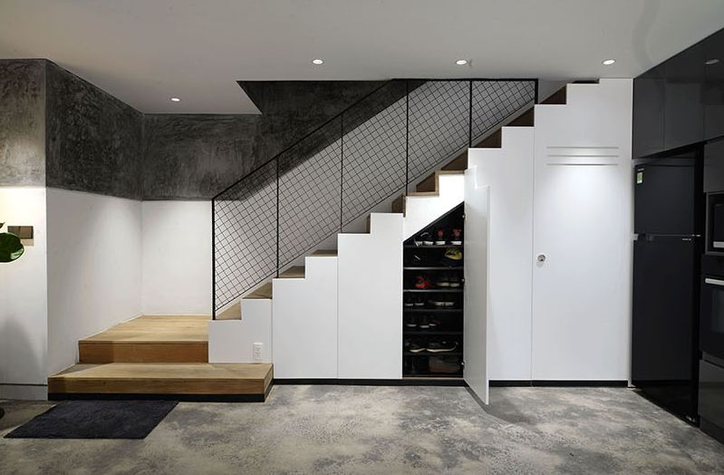 The Smart Ideas to Utilize the Staircase Area