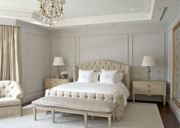 Grey-bedroom-wall-molding-ideas