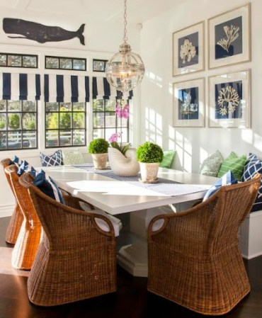 Wicker-dining-room-chairs
