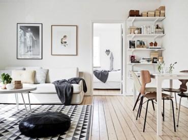 Nordic-living-room-simple-and-basic-bracket-shelves