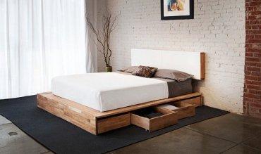Bedroom-organization-tips-platform-storage-bed