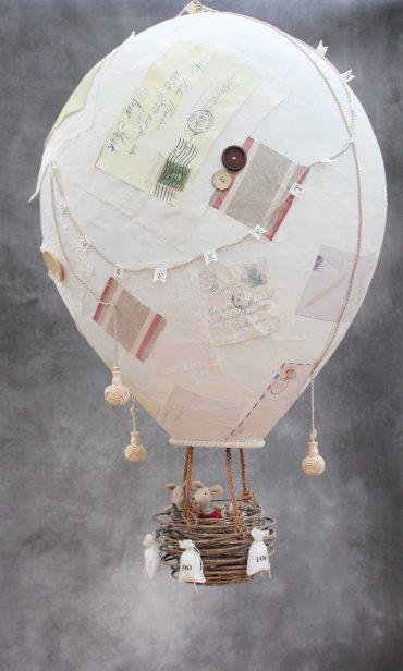 Paper-mache-hot-air-balloon