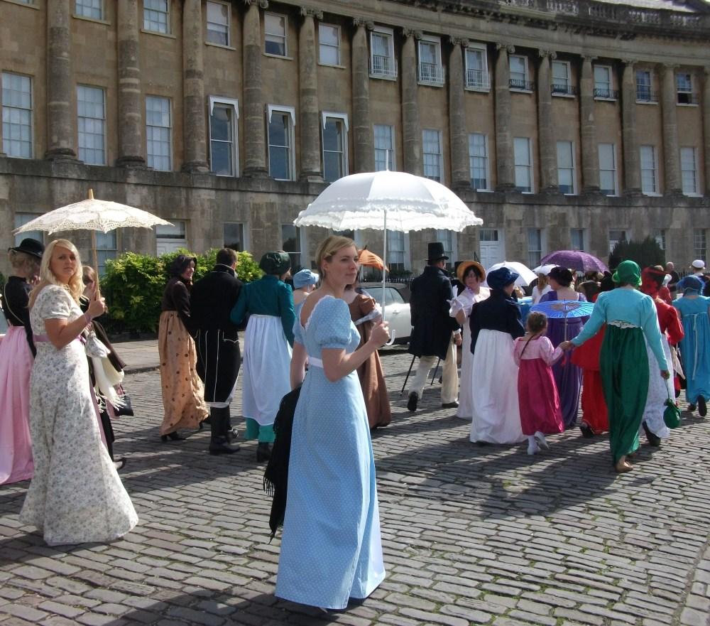 The Jane Austen Festival, Bath (1/6)