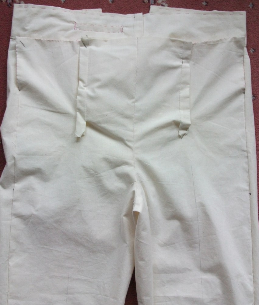 Kannick's Korner Man's Fall-Front Trousers 1790-1810 (4/4)