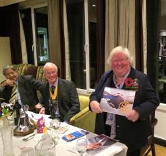 Rotarian's Chari, Wolstenholme, Hazel Hass