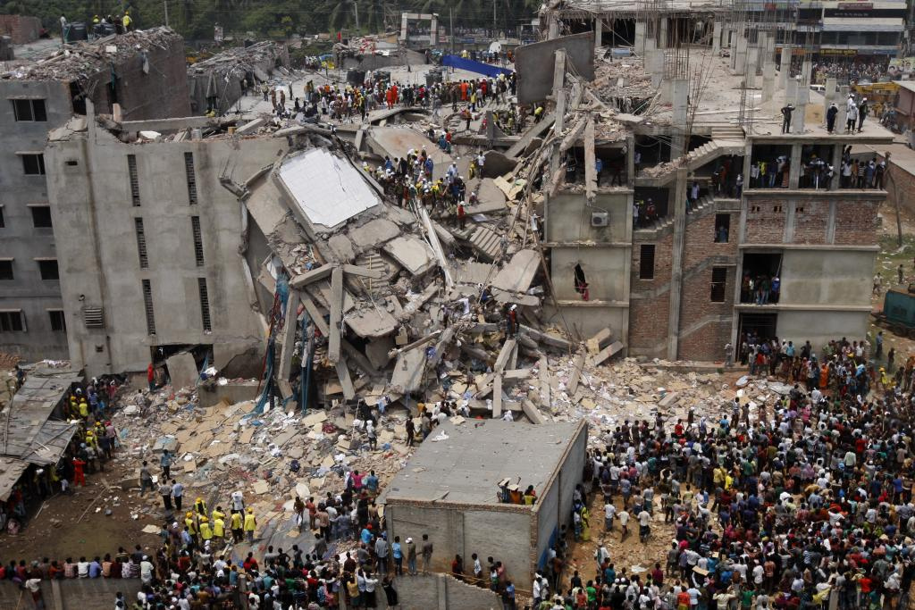 The collapse of the Rana Plaza factory building in Bangladesh is the worst ever industrial accident to hit the garment industry.