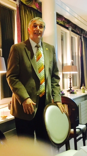 Peter Lloyd of the Rotary Club of Halifax