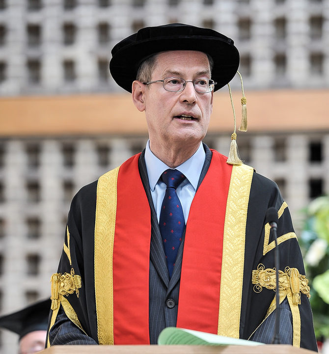 Ed Anderson is the Pro-Chancellor of Leeds Trinity University