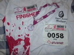 Yorkshire marathon 21