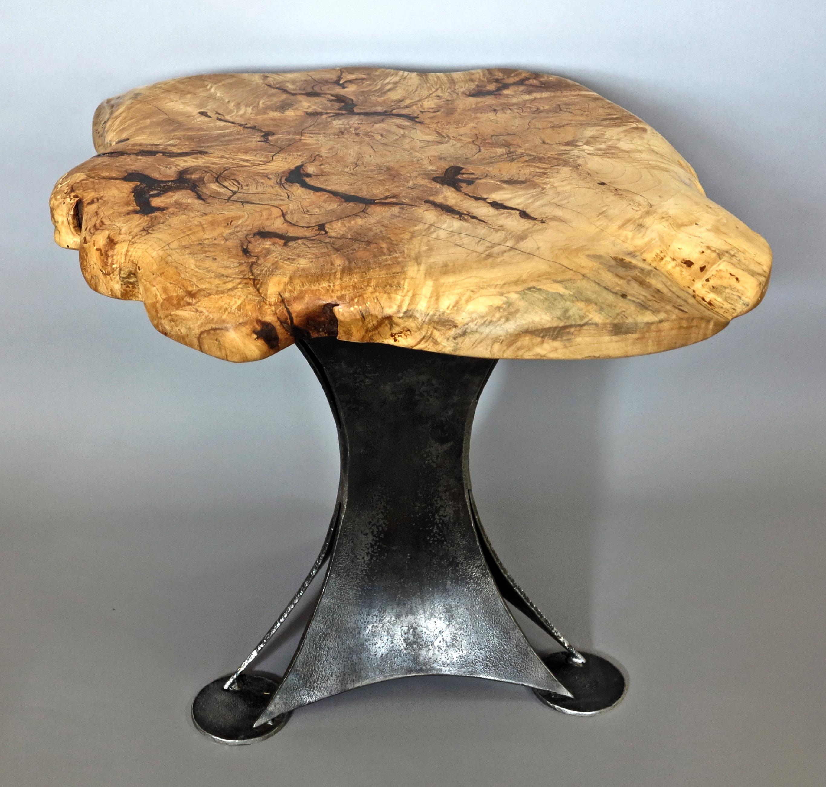Eric Dennis blacksmith iron table steel