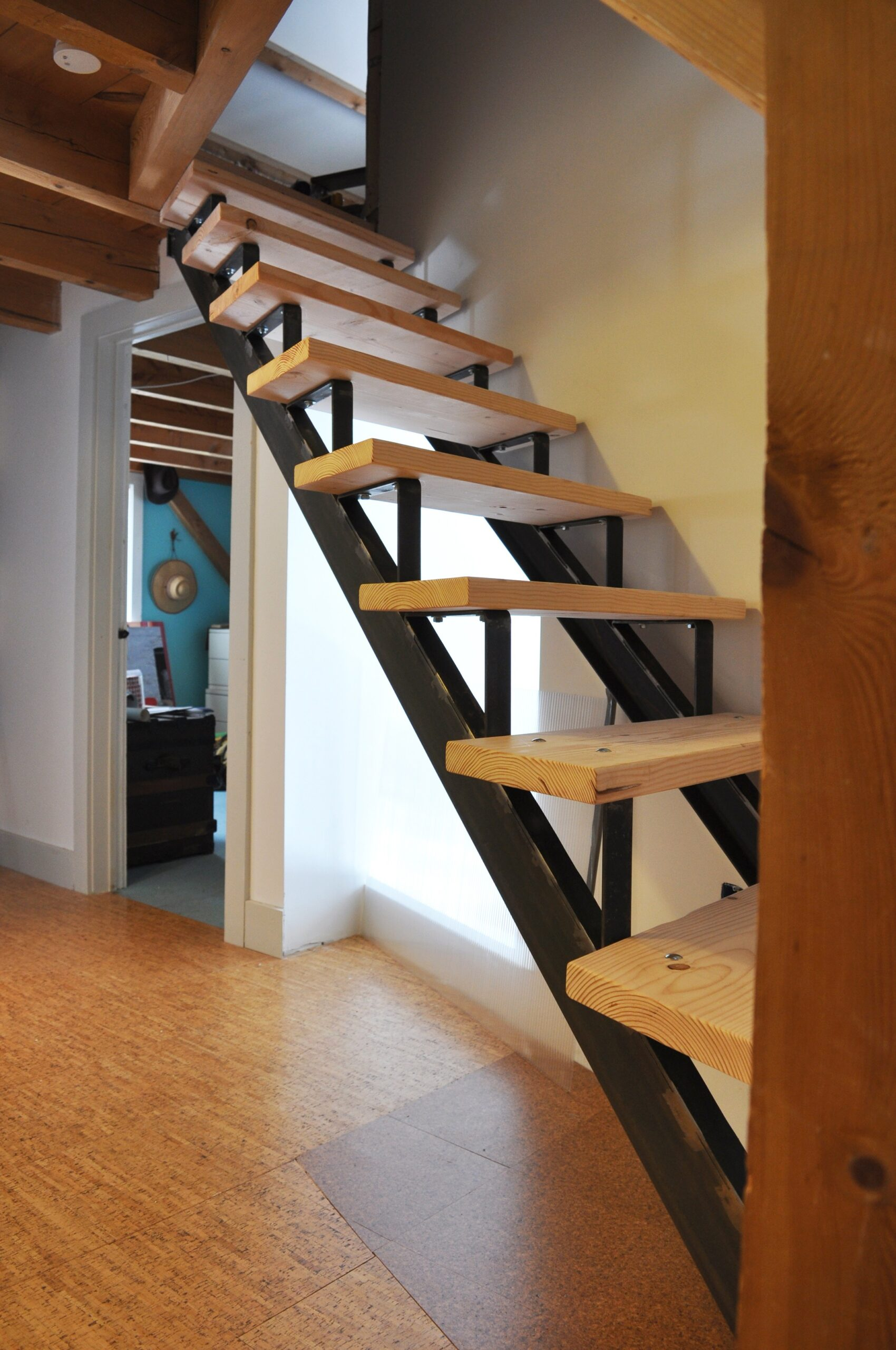 Fabricated Steel Staircase