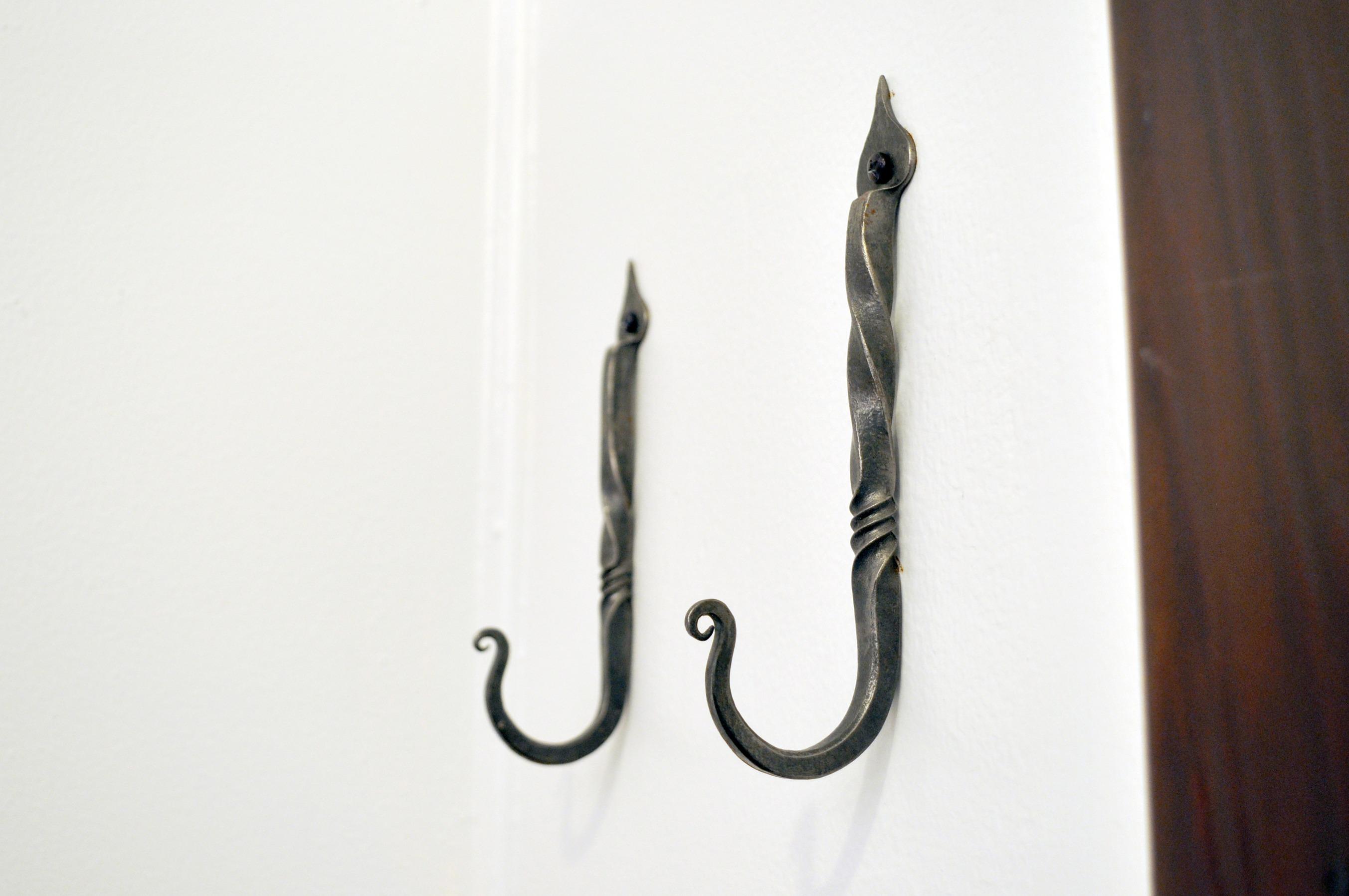 Forged Iron Wall Hooks