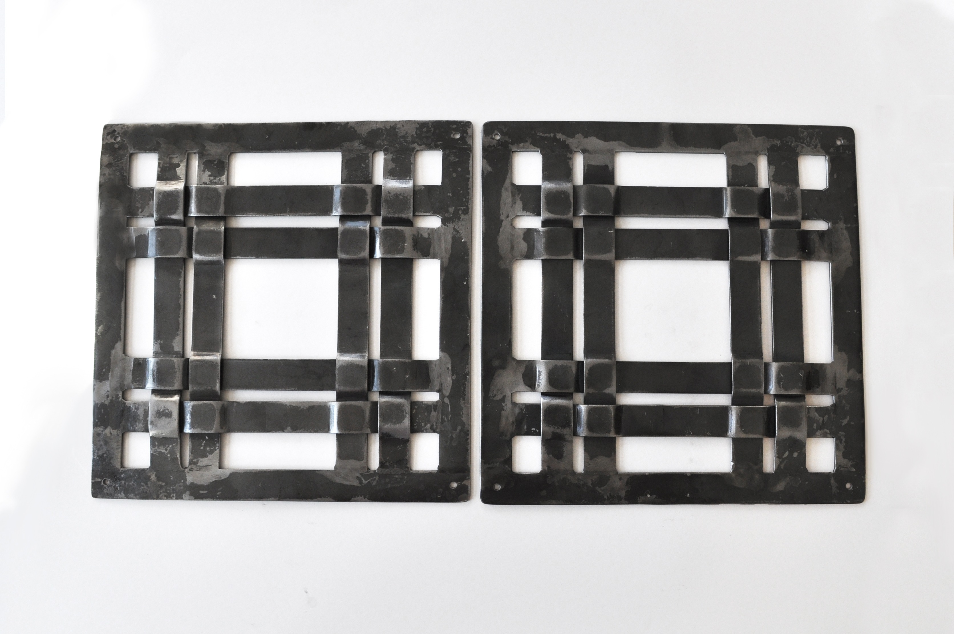 Forged Iron Window Grille
