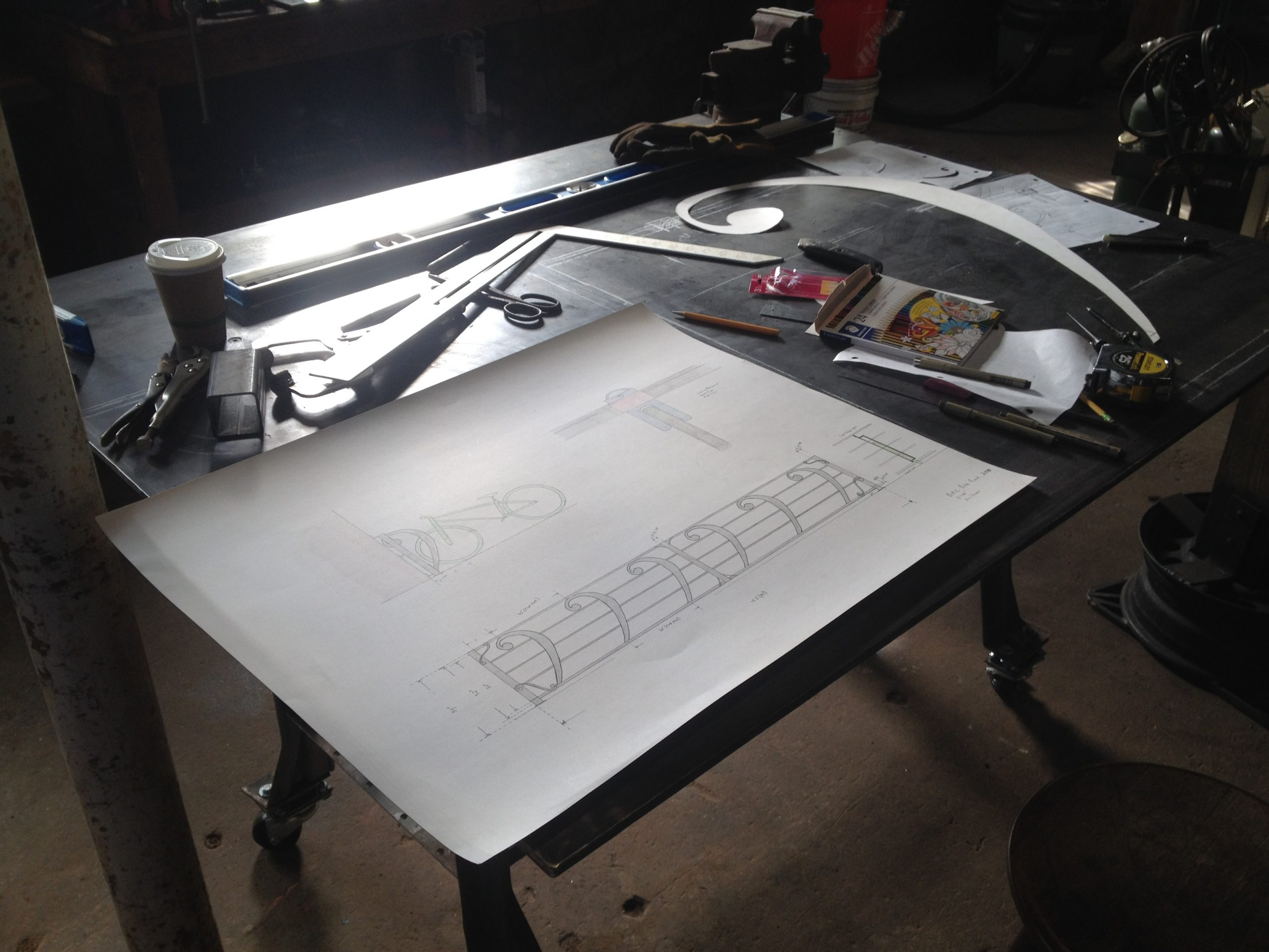 Forged Ironwork Process