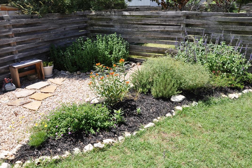 small backyard ideas | A Round Rock Garden on Small Garden Ideas With Rocks id=24524