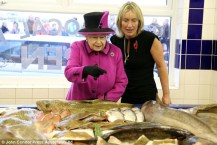 The Queen at Newhaven fish shop