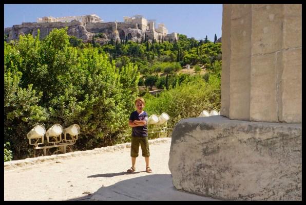 The Ancient Agora and Parthenon