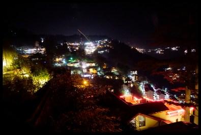 Diwali at night