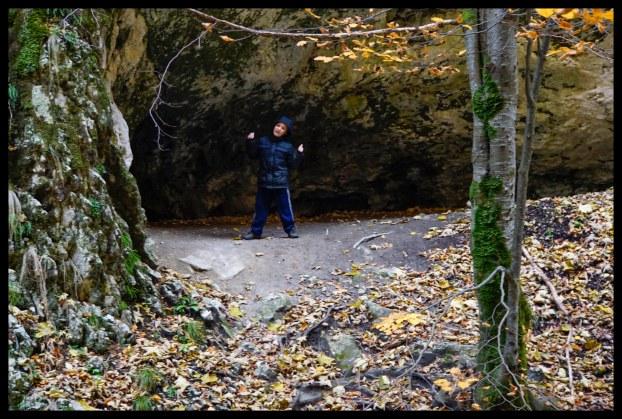 Epic cave in Piatra Craiului National Park