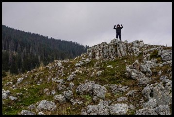 King of the world! - Piatra Craiului National Park