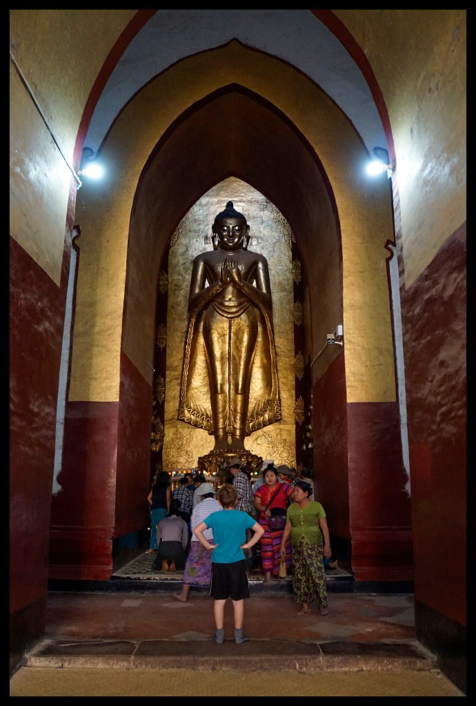 There were a lot of big Buddhas!