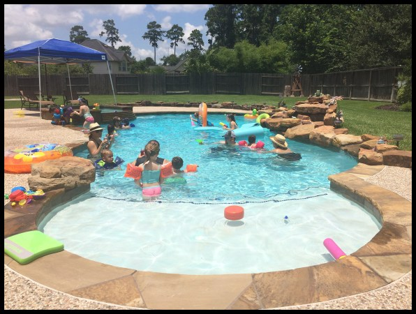 Birthday Pool Party