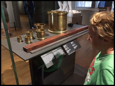 The original units of measure for the metric system! I just studied that in science!