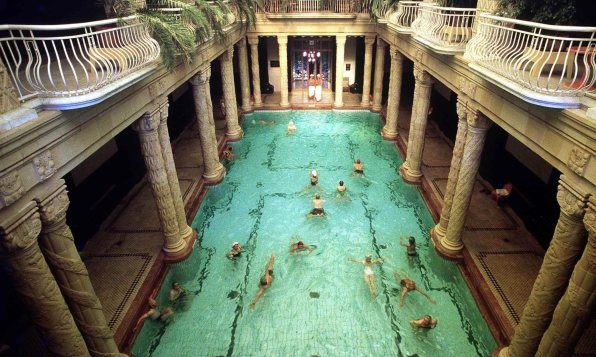 Budapest city break spa