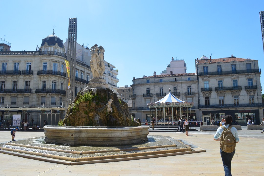 Place du Comédie Montpellier France